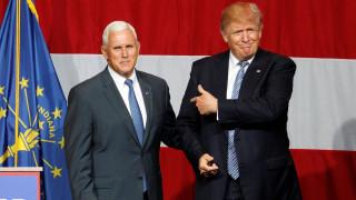 Τον κυβερνήτη της Ιντιάνα και συμπαίχτη του στο γκόλφ επέλεξε ο Τραμπ για αντιπρόεδρο