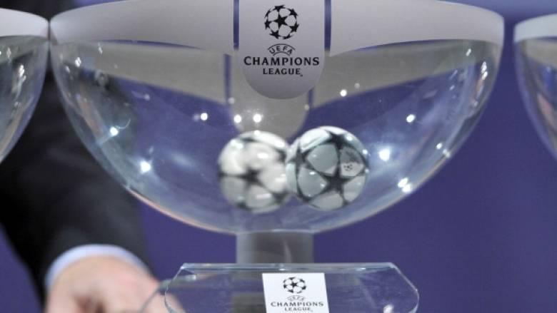 Οι αντίπαλοι του Ολυμπιακού και του ΠΑΟΚ στο Champions League