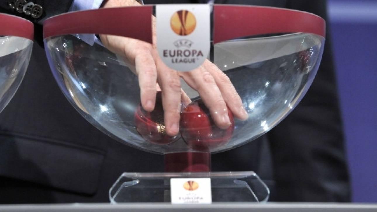Οι αντίπαλοι ΠΑΟ, ΑΕΚ και ΠΑΣ στο Europa League
