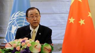 Ο Μπαν Κι Μουν καταδικάζει την τρομοκρατική επίθεση στη Νίκαια
