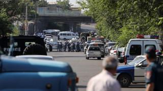 Αρμενία: Εισβολή ενόπλων στο αρχηγείο της αστυνομίας