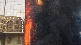 Μεγάλη πυρκαγιά σε ξενοδοχείο στη Μέκκα (vids)