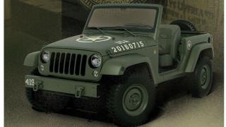 Ένα σύγχρονο Willys θα μπορούσε κάλλιστα να είναι σαν το Jeep Wrangler 75th Salute Concept