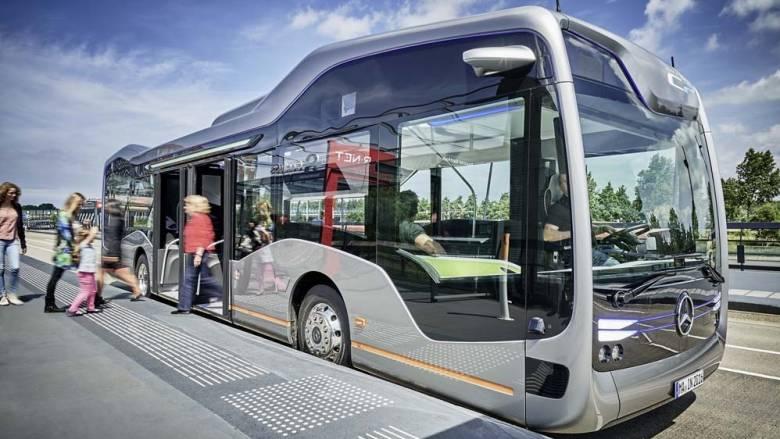 Η Mercedes παρουσίασε το μέλλον των αστικών συγκοινωνιών