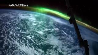 Το Βόρειο Σέλας από το διάστημα