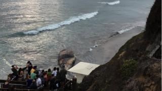 Ξεβράστηκε ξανά στην ακτή κουφάρι γιγάντιας φάλαινας
