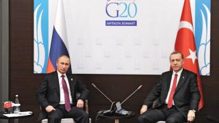 Συνάντηση Πουτίν-Ερντογάν στη Ρωσία