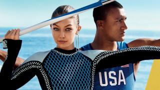Ολυμπιακοί Ρίο: Η Gigi Hadid πρωταθλήτρια του στιλ στη Vogue