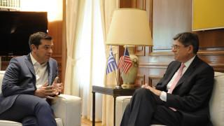 Λιου σε Τσίπρα: Στόχος η συμφωνία για το χρέος πριν τη λήξη της θητείας Ομπάμα