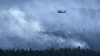 Μεγάλη πυρκαγιά σε εξέλιξη στη Μονεμβασιά