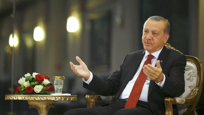 Από συνέντευξη σε συνέντευξη ο Ερντογάν: Νέα τηλεοπτική εμφάνιση στο Reuters