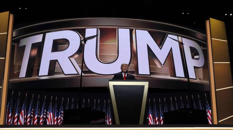 Kαι επισήμως Τραμπ για υποψήφιος των Ρεπουμπλικάνων- Επίθεση στην Κλίντον