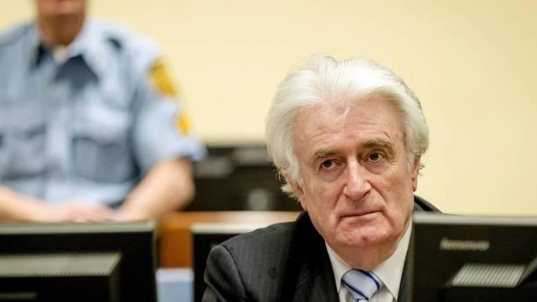 Έφεση κατέθεσε ο Κάρατζιτς κατά της καταδίκης του