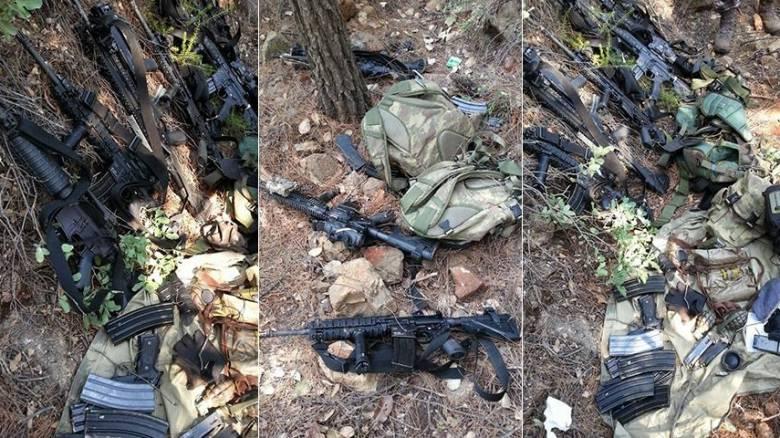 Αυτά είναι τα όπλα που πήραν για να σκοτώσουν τον Ερντογάν
