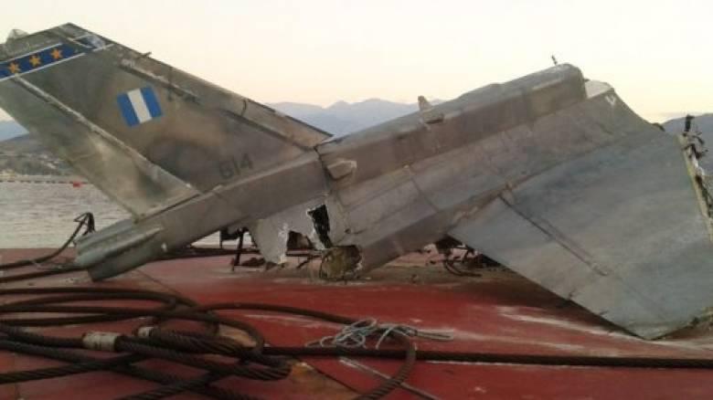 Εντυπωσιακή ανέλκυση F16 από τον βυθό (vid)