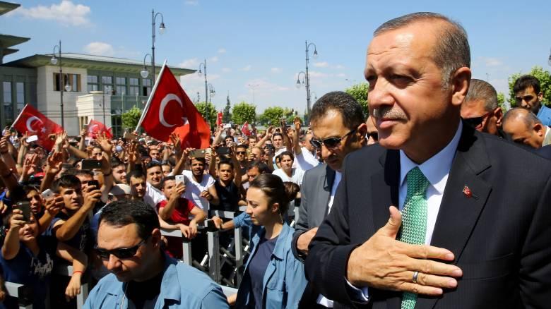 Ερντογάν: Σκοπός μας η επιτάχυνση του εκδημοκρατισμού
