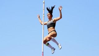 Και πάλι πρώτη στον τελικό του επί κοντώ η Κατερίνα Στεφανίδη