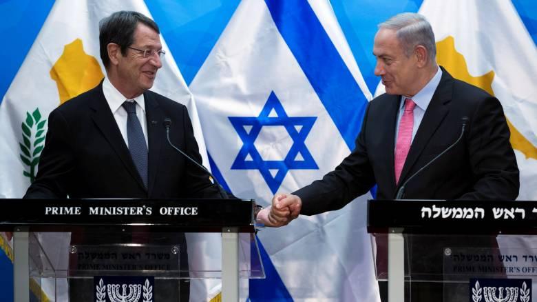 Ενέργεια και ασφάλεια στο επίκεντρο των συζητήσεων Νετανιάχου–Αναστασιάδη στην Ιερουσαλήμ