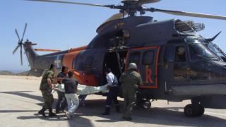 Στα όρια αντοχής πληρώματα και ελικόπτερα