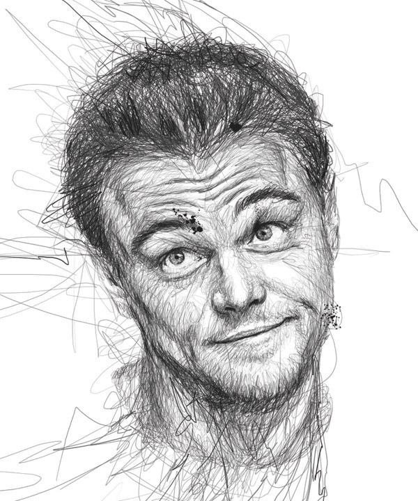 Leonardo DiCaprio Illustration by Vince Low