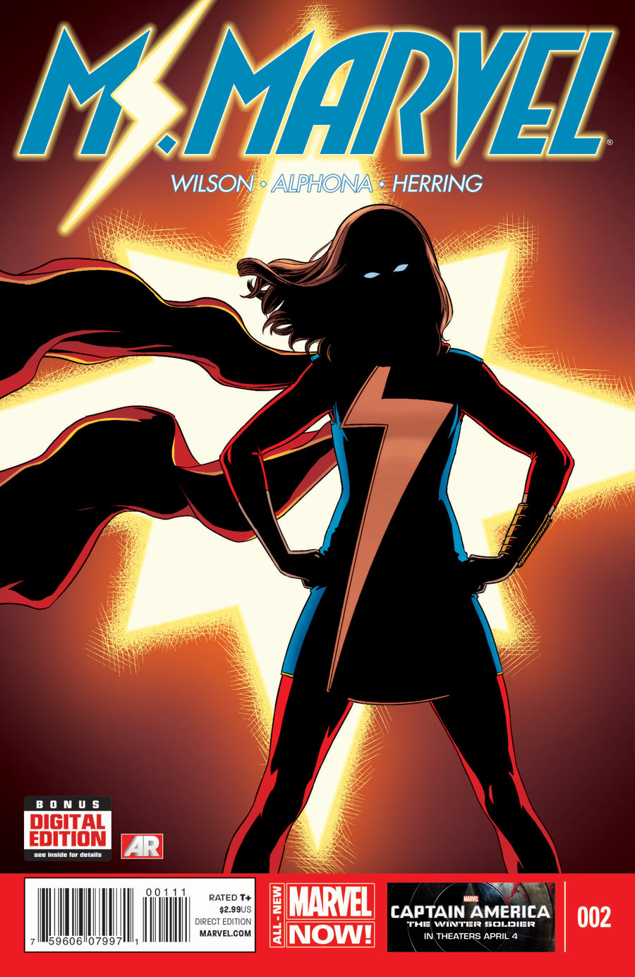 Ms Marvel 2 Cover 90e0e