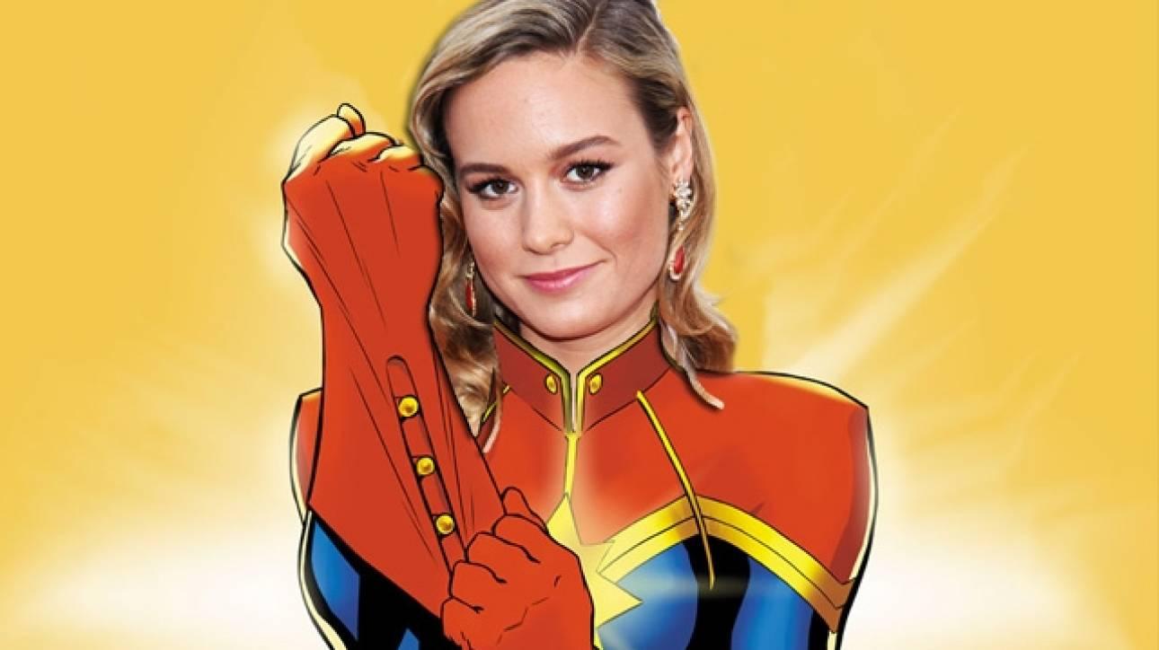 Shazam! H Brie Larson η πρώτη γυναίκα υπερήρωας της μεγάλης οθόνης