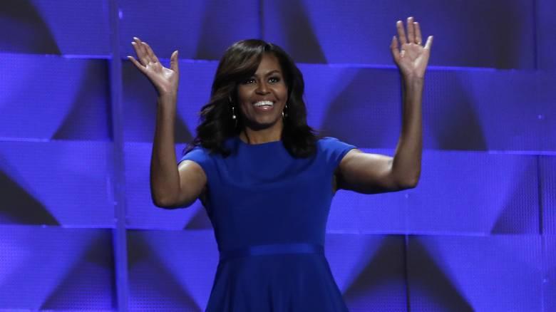 Η ομιλία της Μισέλ στο συνέδριο των Δημοκρατικών που συγκίνησε τον Ομπάμα