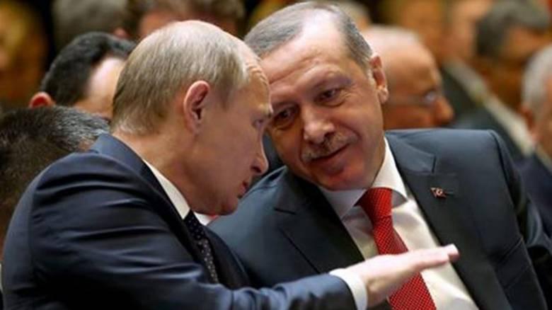 Συνάντηση Πούτιν - Ερντογάν στην Αγ. Πετρούπολη στις 9 Αυγούστου