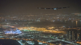 Τον γύρο του κόσμου έκανε το ηλιακό αεροπλάνο