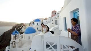 Το Reuters φωτογραφίζει τη Σαντορίνη (pics)
