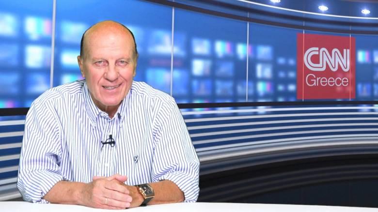 Ο «στρατηγός» του ελληνικού ποδοσφαίρου Μίμης Δομάζος στο CNN Greece