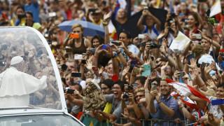 O Πάπας Φραγκίσκος στην Πολωνία