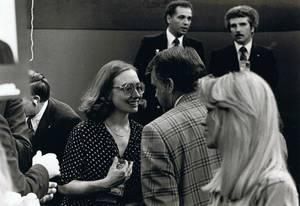 Η Χίλαρι λίγο πριν τη δεκαετία του 80.