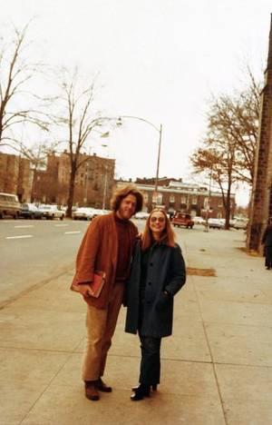 Ο Μπιλ και η Χίλαρι στη νομική σχολή του Yale, 1972