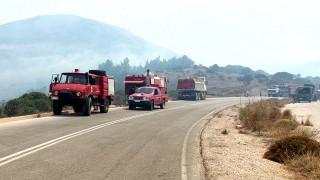 Φωτιά στον Αγ. Νικόλαο Κρήτης - Πληροφορίες ότι απειλείται οικισμός