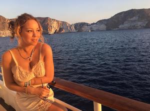 Η Μariah Carey στην Πόντζα της Ιταλίας.