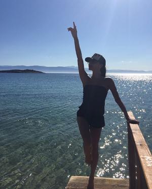 Η Βικτόρια Μπέκαμ στην Ελλάδα.