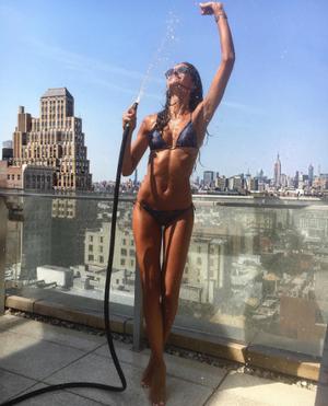 Η Ιzabel Goulart στη Νέα Υόρκη.