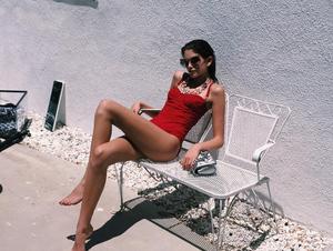 Η Kaia Gerber (κόρη της Σίντι Κρόφορντ) στην Ιταλία.