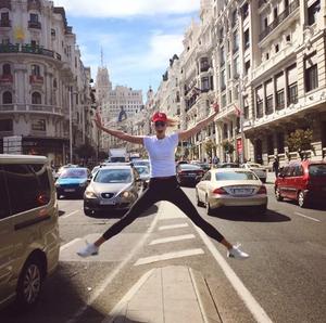 Η Κάρλι Κλος στη Μαδρίτη