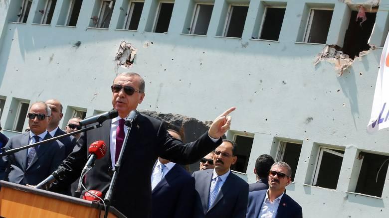 Επίθεση Ερντογάν στη Δύση γιατί δεν έδειξε αλληλεγγύη