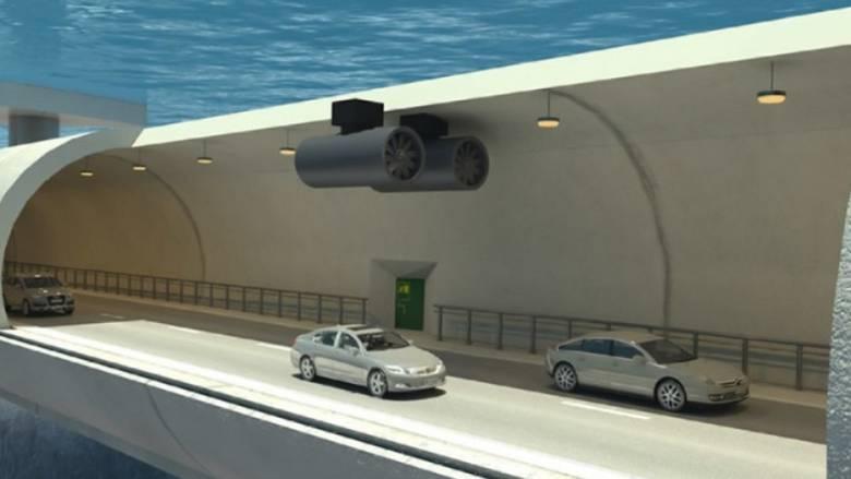Υποθαλάσσιο τούνελ που κρέμεται από πλωτήρες στη Νορβηγία