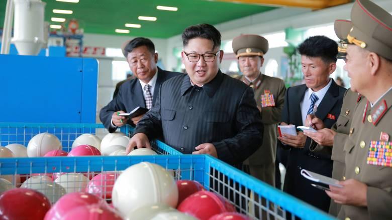 Ο Κιμ Γιονγκ Ουν και τα είδη αλιείας (pics)