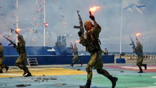 Επίδειξη δύναμης της Ρωσίας για την Ημέρα του Πολεμικού Ναυτικού