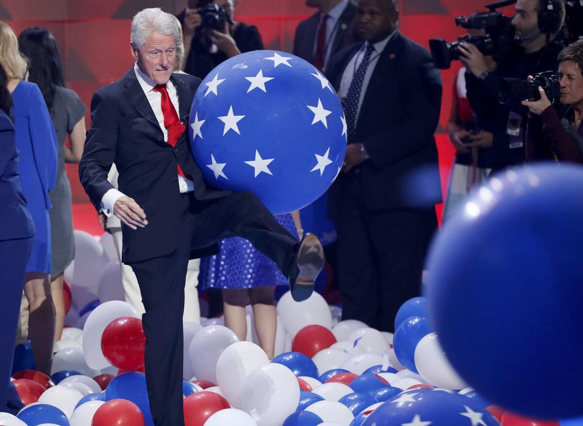 Clinton kicking 2016 07 29T044005Z 742858831 HT1EC7T0CYAQI RTRMADP 3 USA ELECTION