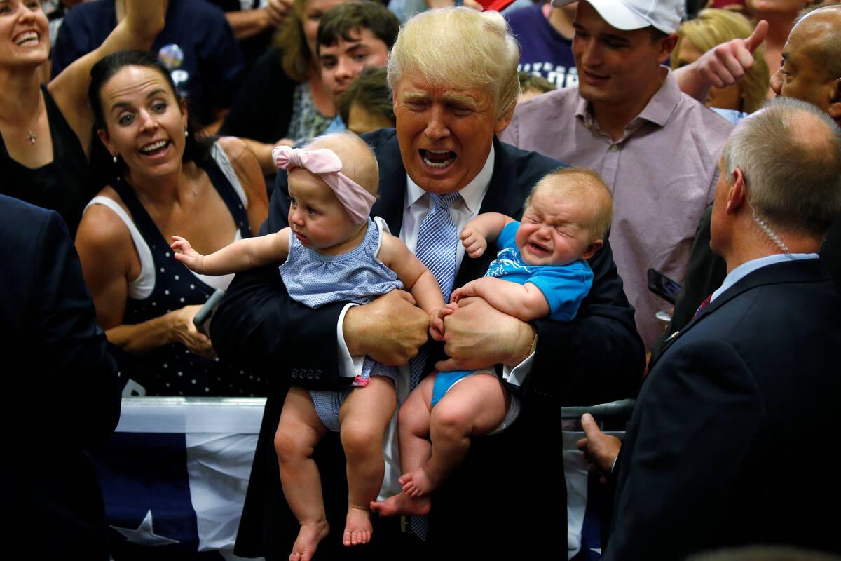 Trump babies cry 2016 07 29T220150Z 1145642836 S1BETSLCHYAA RTRMADP 3 USA ELECTION TRUMP