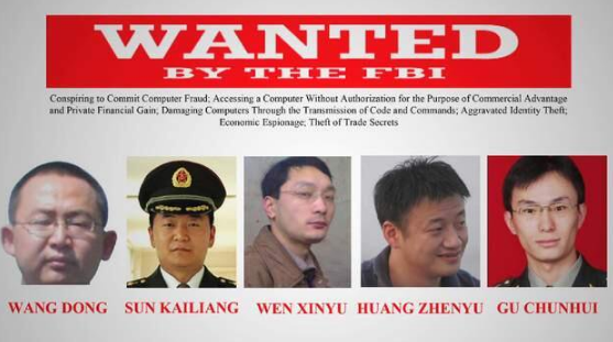 wang dong wanted by the FBI Twitter Search
