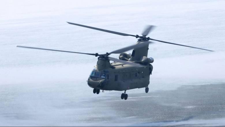 Αεροδιακομιδή 54χρονου ασθενούς από τη Νάξο στην Αθήνα με ελικόπτερο της Αεροπορίας Στρατού