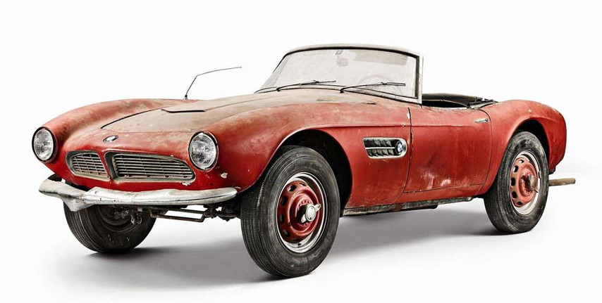 1957 bmw 507 roadster formerly owned by elvis presley 79
