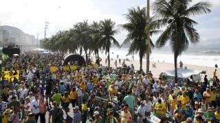 Βραζιλία: διαδηλώσεις υπέρ και κατά της Ρούσεφ